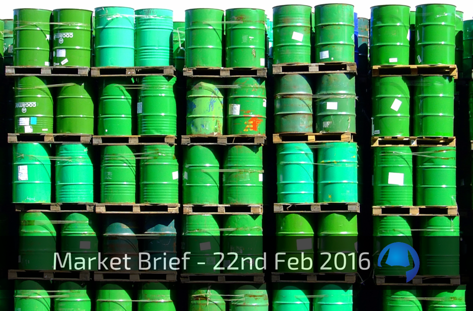 Market Brief – Monday 22nd Feb 2016