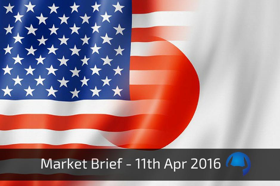 Market Brief – Monday 11th Apr 2016