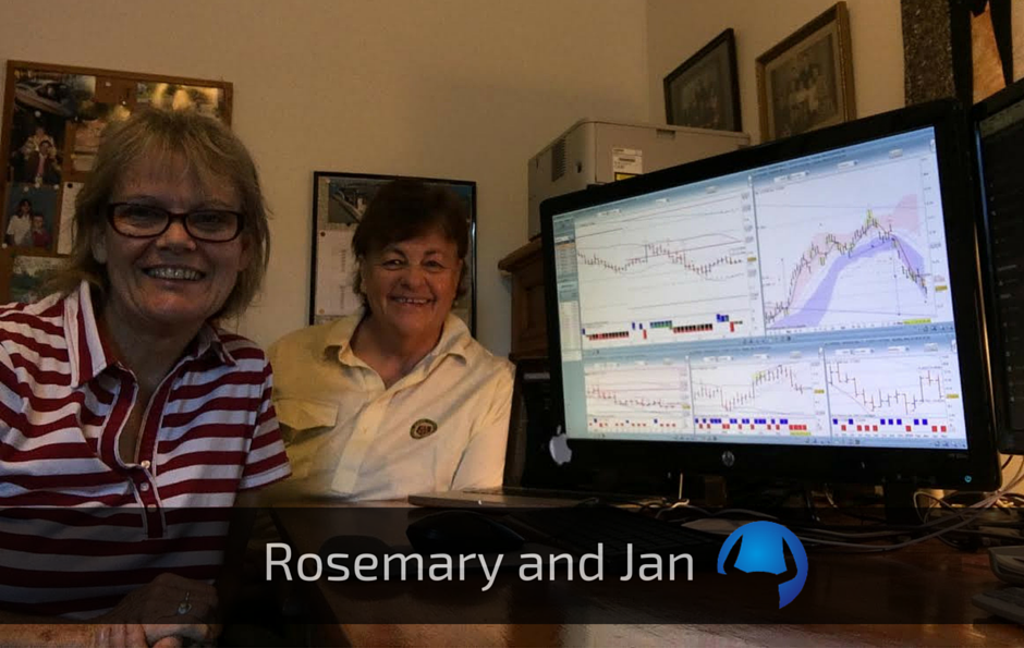 Trade View Trader Profile Rosemary and Jan