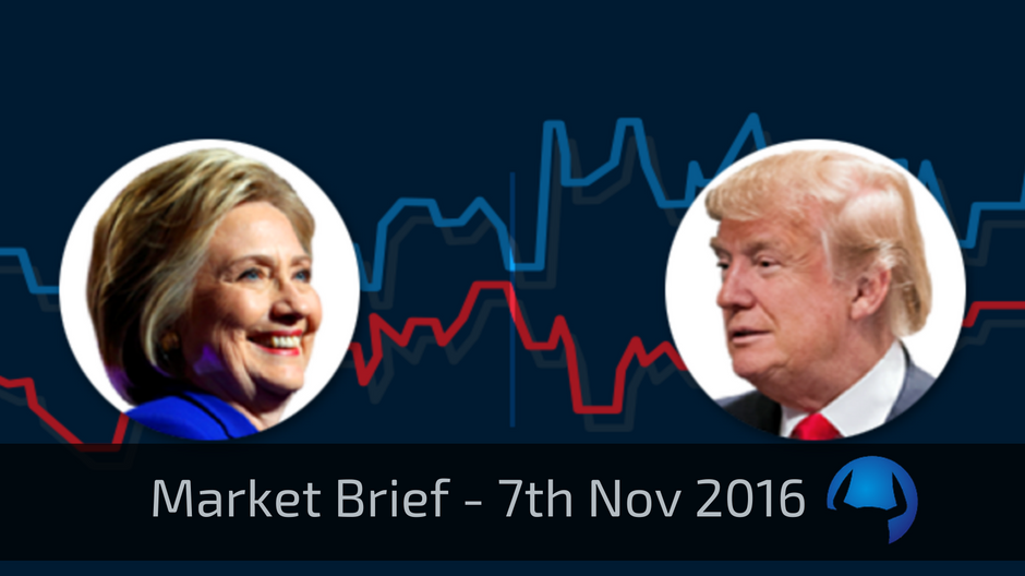 Market Brief – Monday 7th November 2016