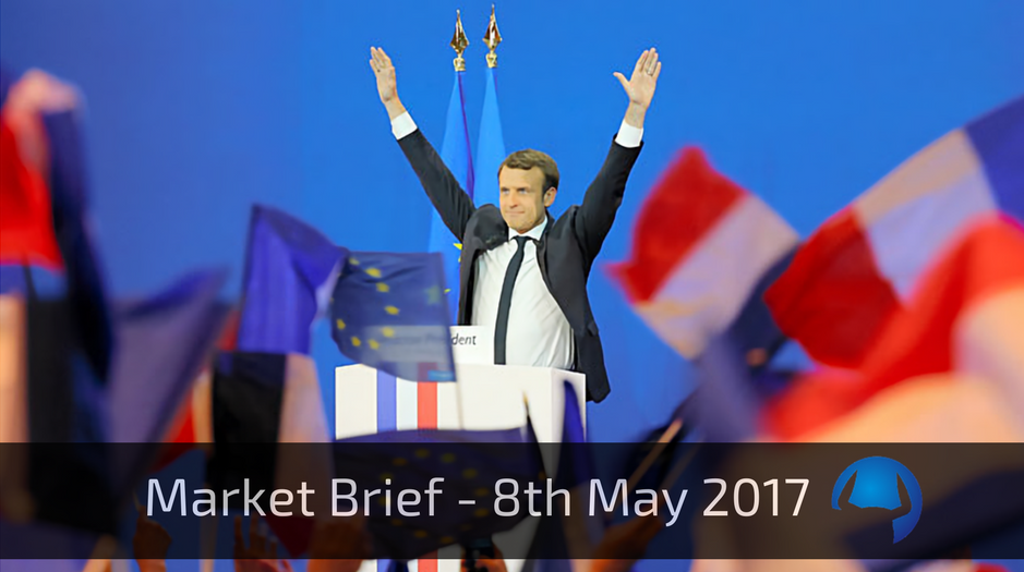 Market Brief – Monday 8th May 2017
