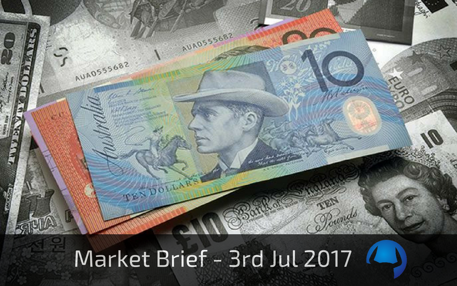 Market Brief – Monday 3rd July 2017