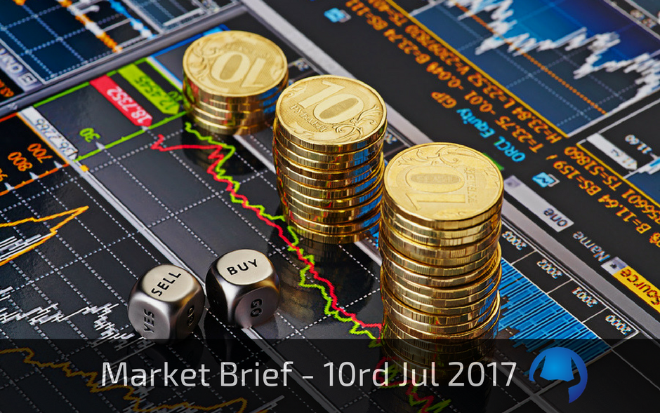 Market Brief – Monday 10th July 2017