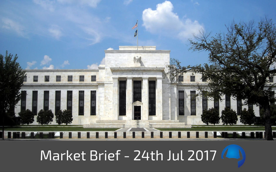 Market Brief – Monday 24th July 2017