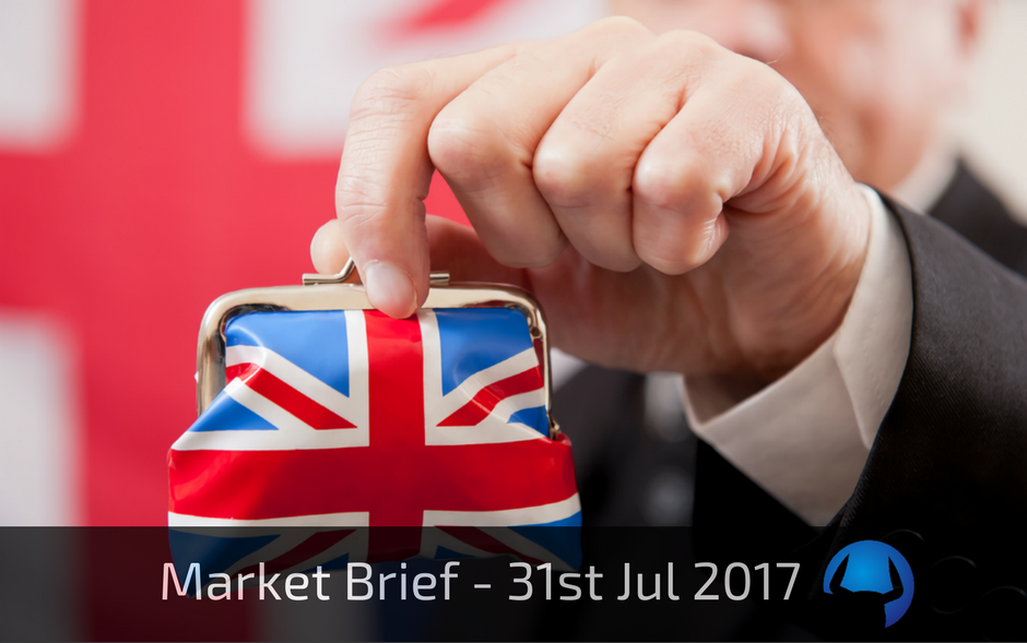 Market Brief – Monday 31st July 2017