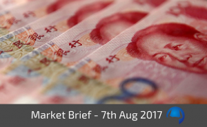 Trade View Market Brief - 7th August 2017