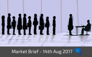 Trade View Market Brief - 14th August 2017