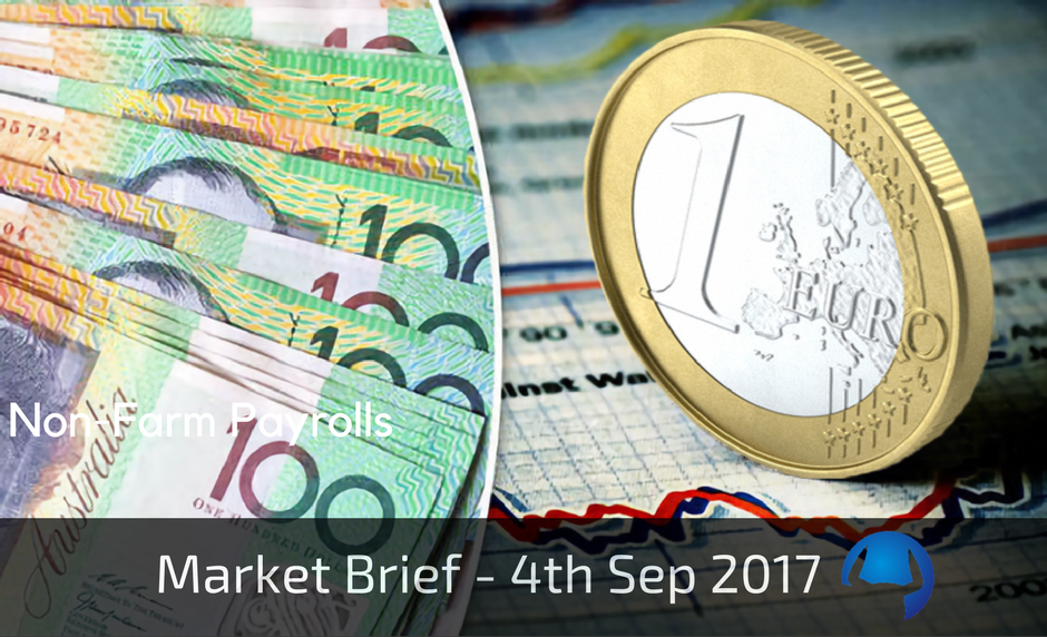 Trade View Market Brief - 4th September 2017