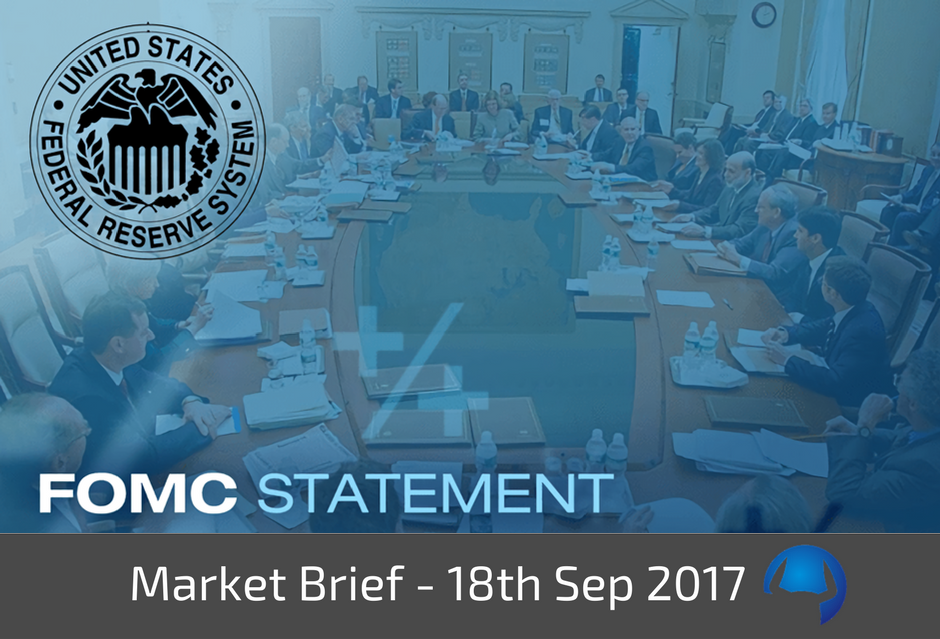 Trade View Market Brief - 18th September 2017
