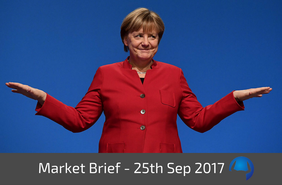 Trade View Market Brief - 25th September 2017