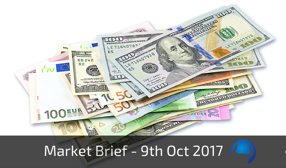 Trade View Market Brief - 9th October 2017