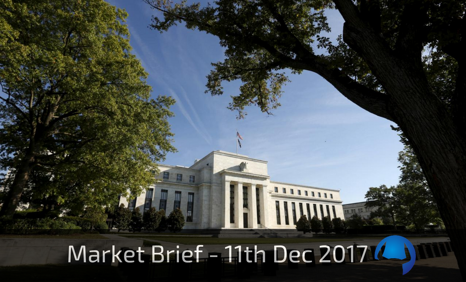 Trade View Market Brief - 11th December 2017