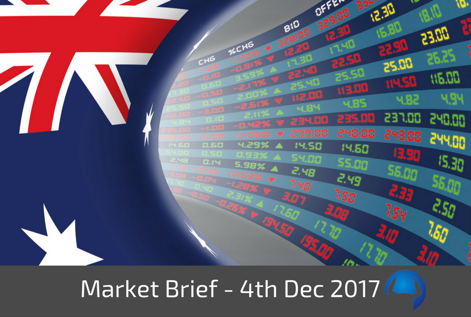 Trade View Market Brief - Monday 4th December 2017