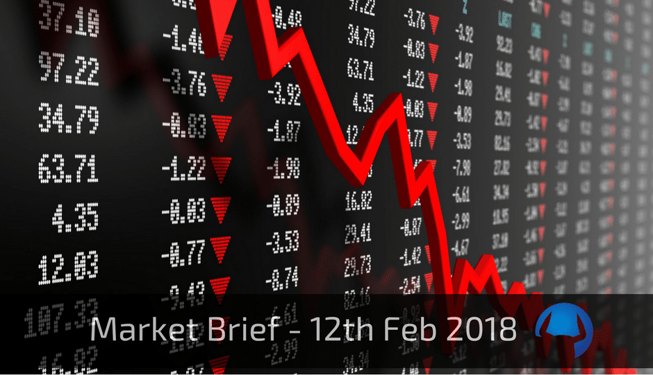 Trade View Market Brief - 12th February 2018