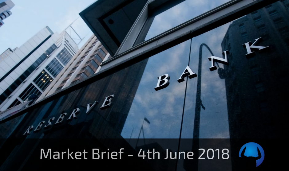 Trade View Investments Weekly Market Brief 4th June 2018
