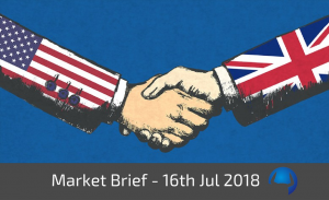 Trade View Investments Weekly Market Brief 16th July 2018