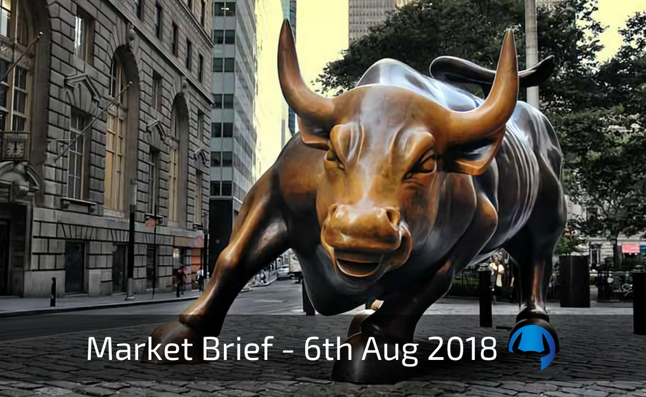 Trade View Investments Weekly Market Brief 6th August 2018