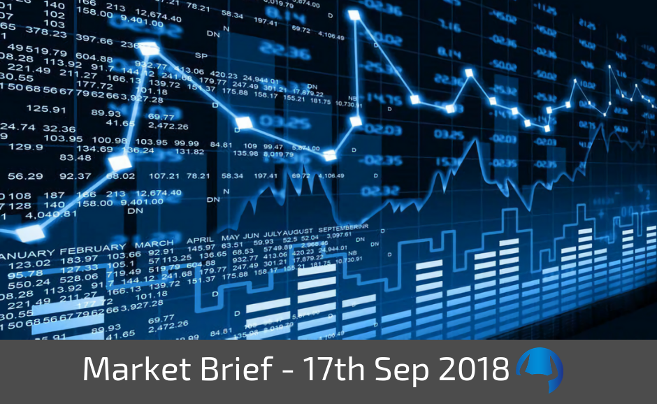 Trade View Investments Weekly Market Brief 17 September 2018
