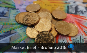 Trade View Investments Weekly Market Brief 3 September 2018