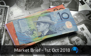 Trade View Weekly Market Brief 1st October 2018