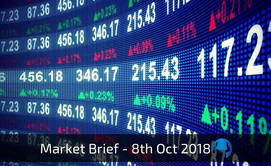 Trade View Weekly Market Brief 8th October 2018