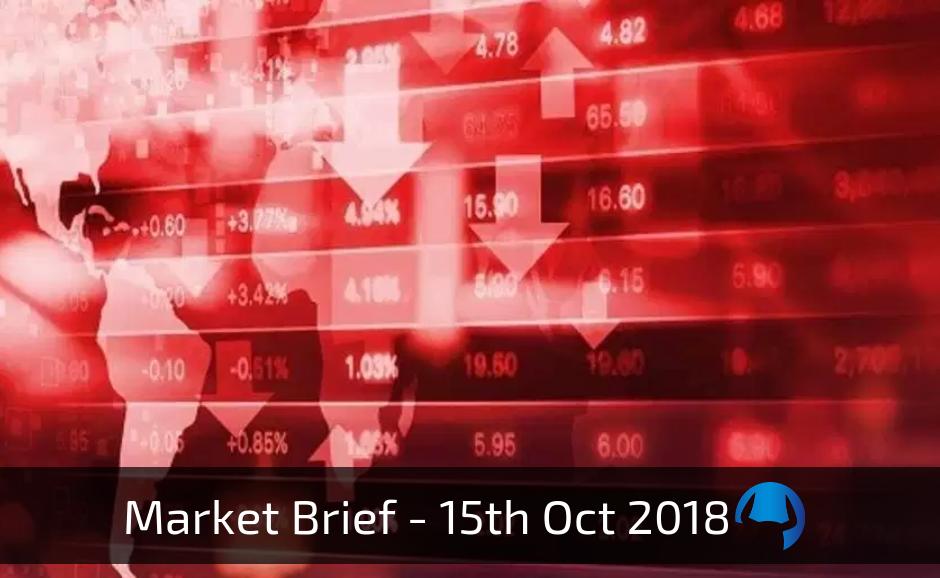 Trade View Weekly Market Brief 15 Oct 2018