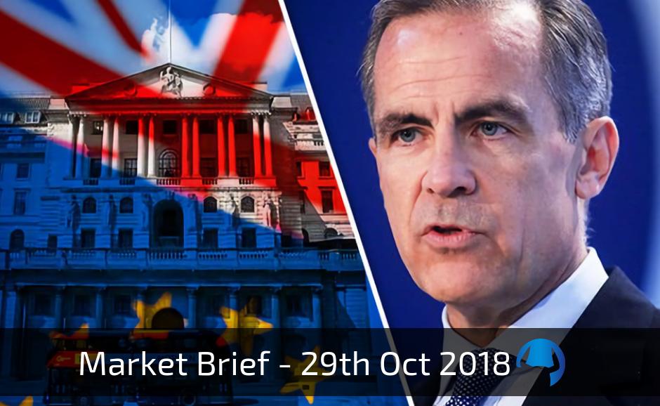 Trade View Weekly Market Brief 29th October 2018