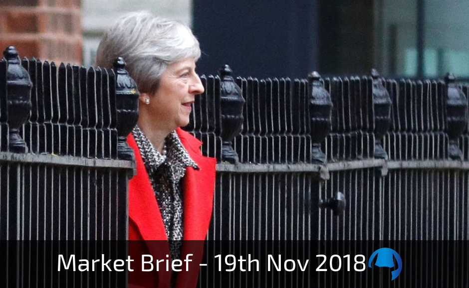 Trade View Weekly Market Brief 19th November 2018