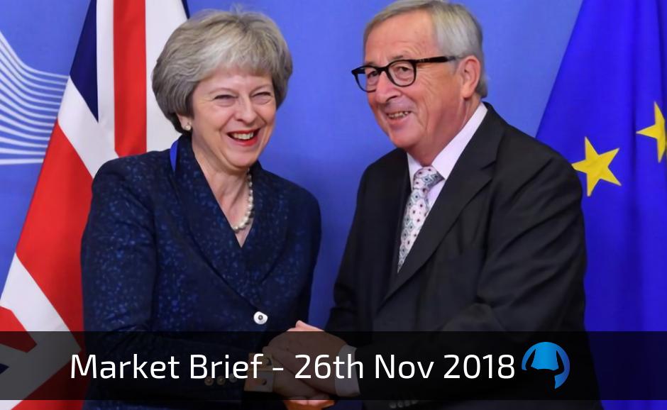 Market Brief – Monday 26th November 2018