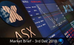 Trade View Weekly Market Brief 3rd December 2018