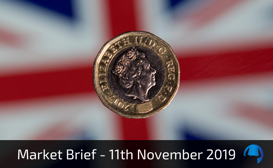 Market Brief – Monday 11th November 2019