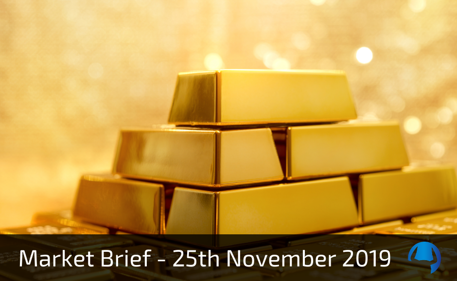 Market Brief – Monday 25th November 2019