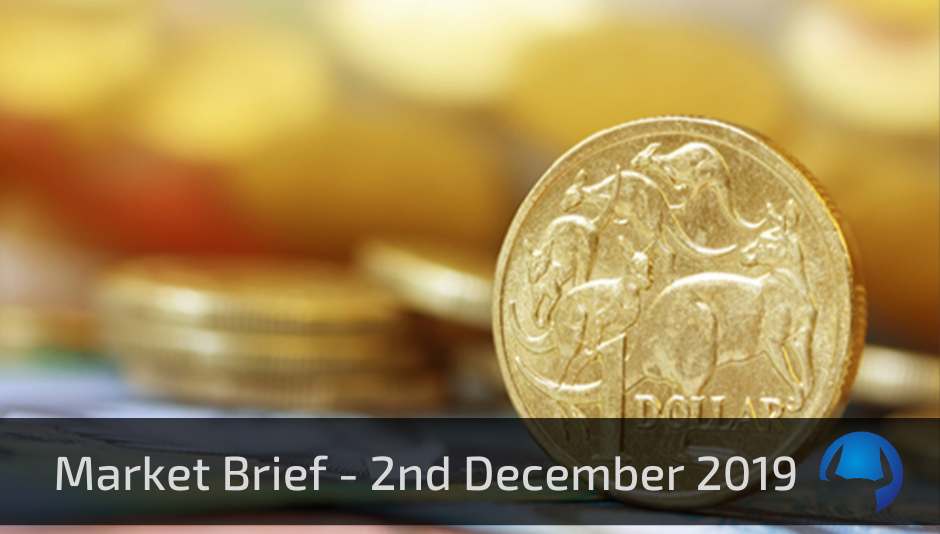 Market Brief – Monday 2nd December 2019