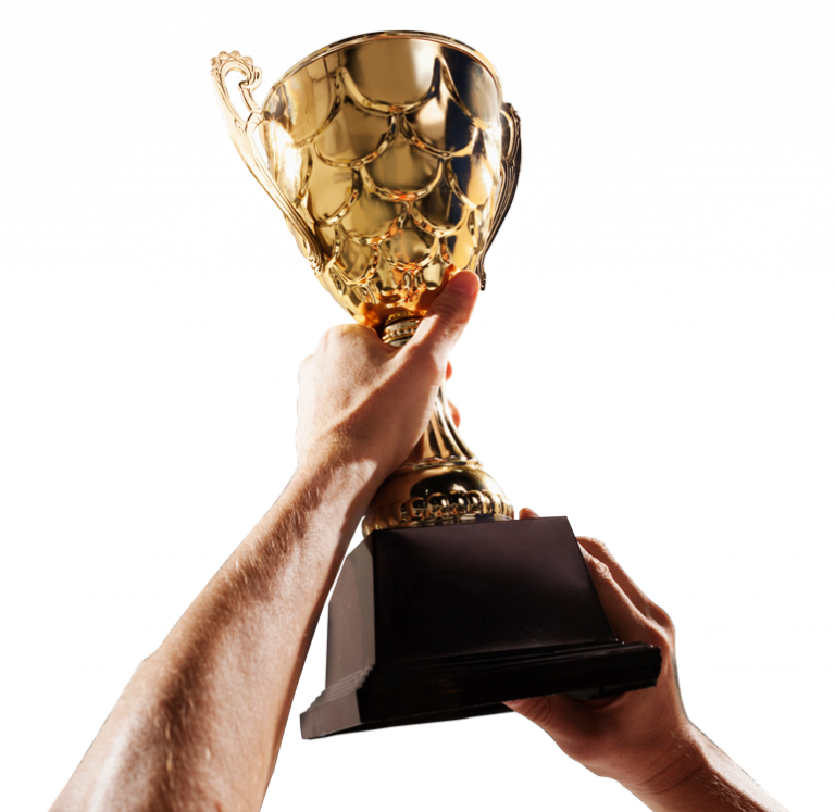 Image of our proprietary trading trophy