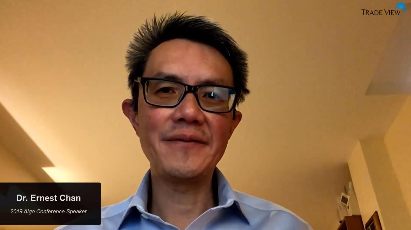 Dr. Ernest Chan – Managing Member, QTS Capital Management